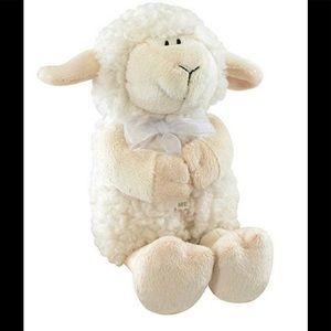 Stephen Baby Praying Woolly Lamb Plush 2013